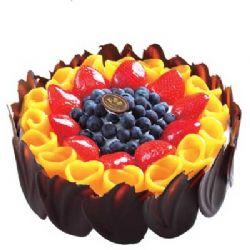 巧克力蛋糕/心花怒放