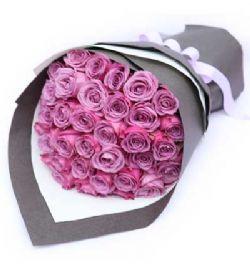 36枝紫玫瑰/醇美�`放