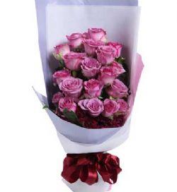 19枝紫玫瑰/紫对你有感觉