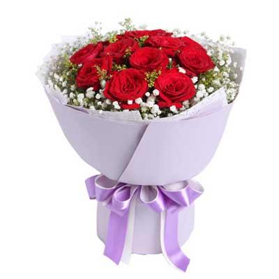 11枝�t玫瑰/致美��的你
