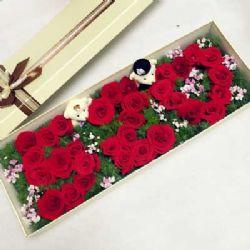 礼盒/33枝红玫瑰520