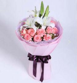 11枝粉玫瑰/��巯嚯S
