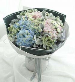处女座守护花