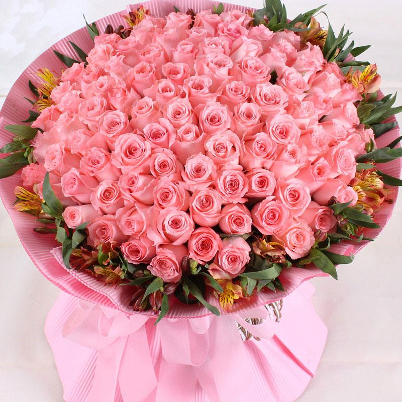 99朵戴安娜玫瑰/给你的浪漫