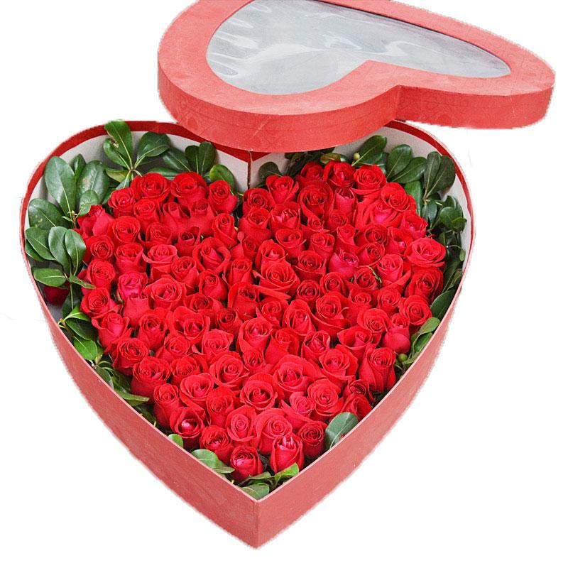 99朵红玫瑰/炽热的爱恋