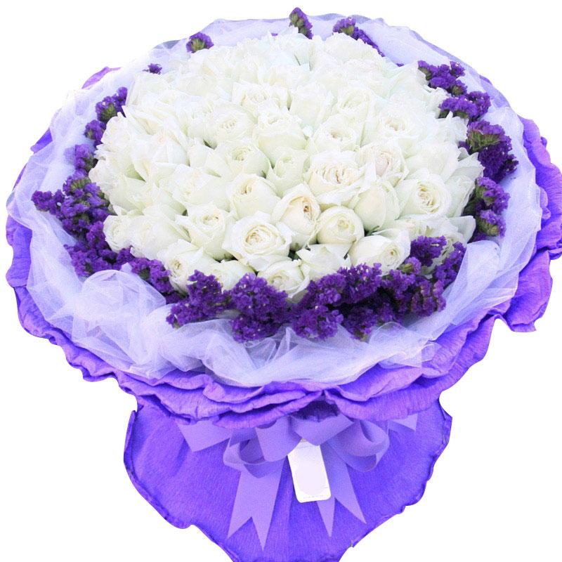 99朵白玫瑰/美人如玉