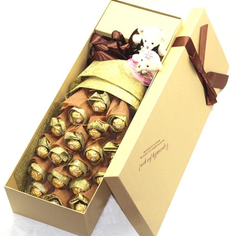 19颗正品费列罗巧克力/甜蜜永久