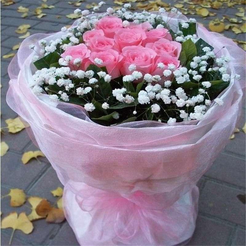 11枝顶级戴安娜玫瑰/甜美公主