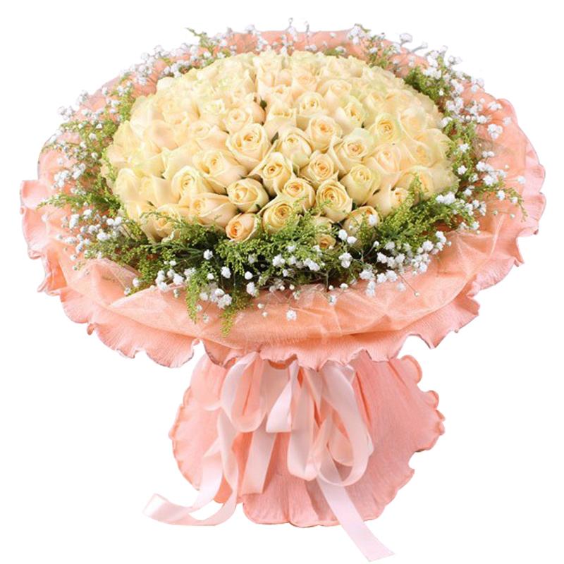 50枝香槟玫瑰/爱恋时光