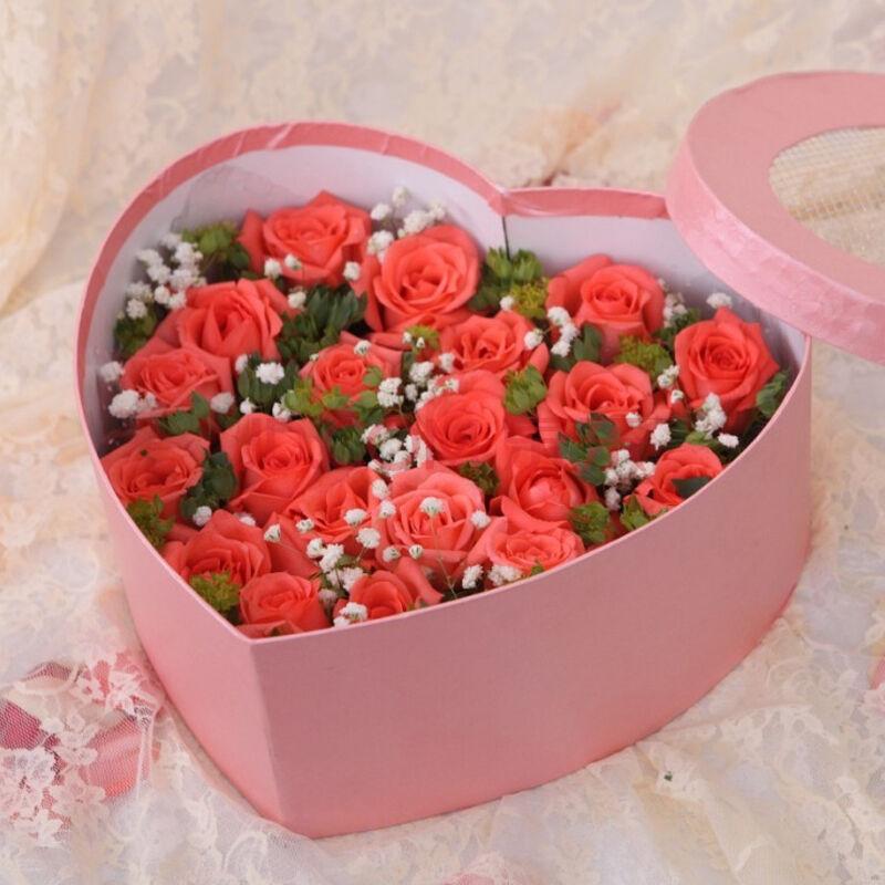 21朵粉玫瑰/美好心情