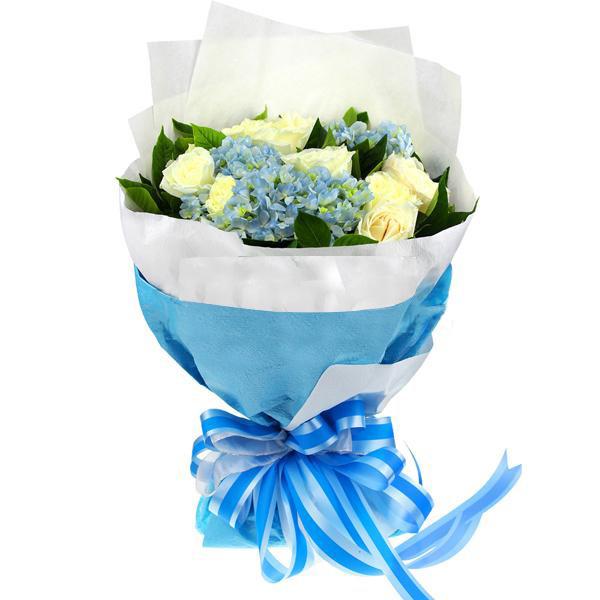 12枝白玫瑰/纯粹的爱