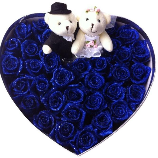蓝玫瑰33朵/爱你的感觉