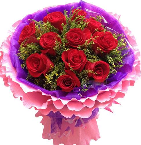 11枝极品红玫瑰/亲爱的公主
