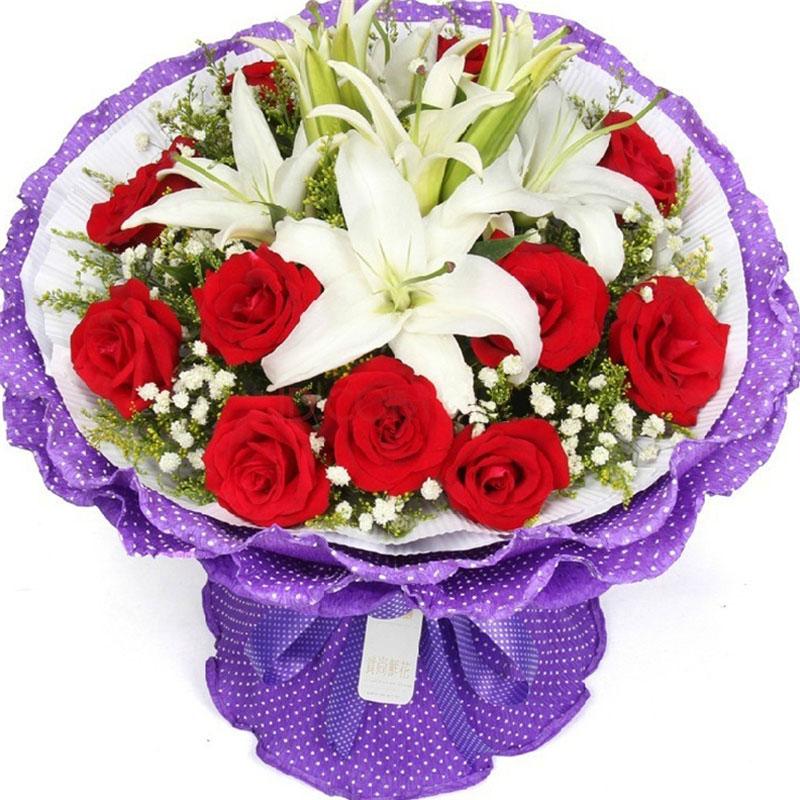 11朵顶级红玫瑰/此生幸福