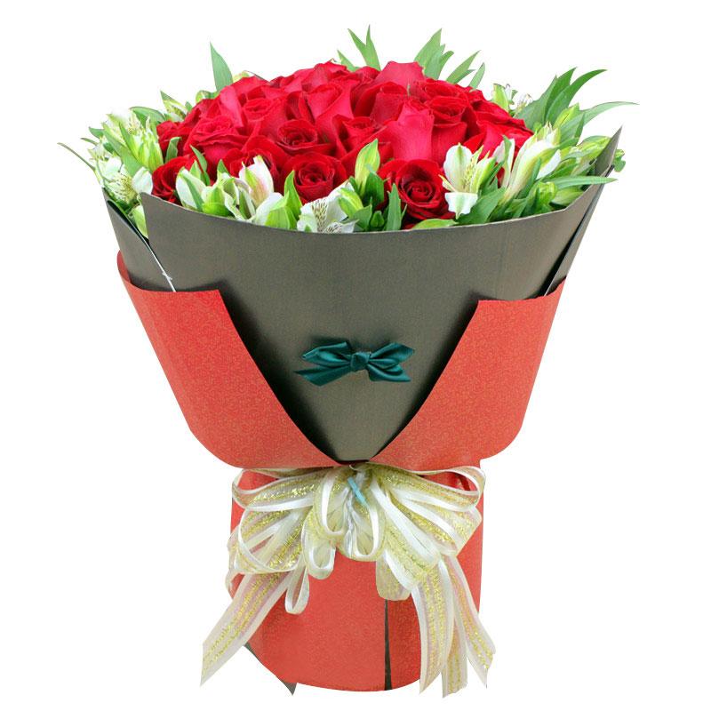 33朵红玫瑰/深情缘
