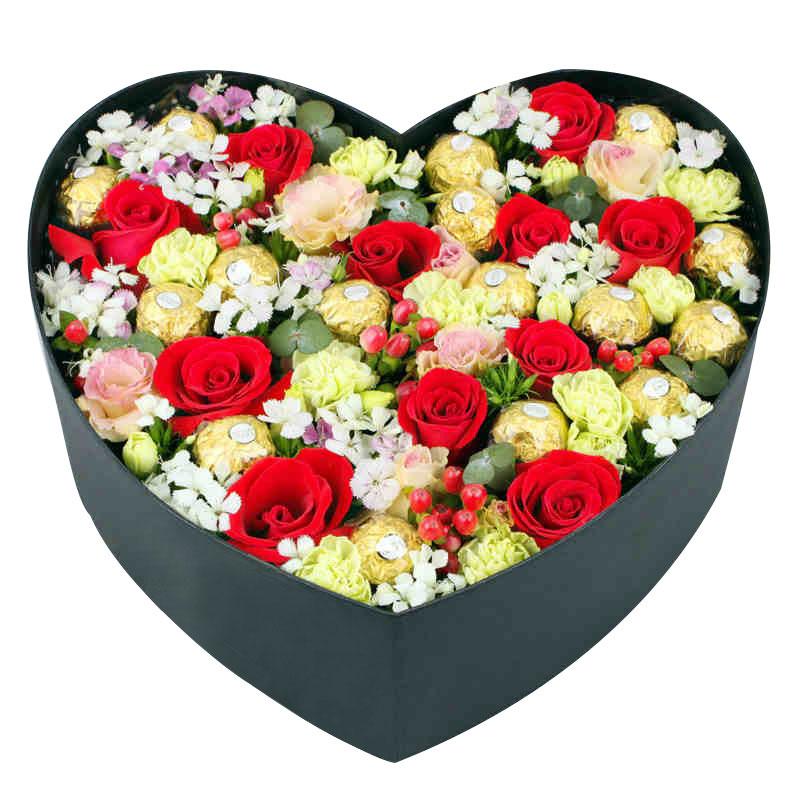 11朵极品红玫瑰/我的心中只有你
