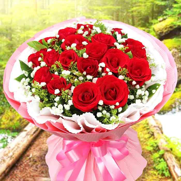 19朵红玫瑰/永远的爱恋