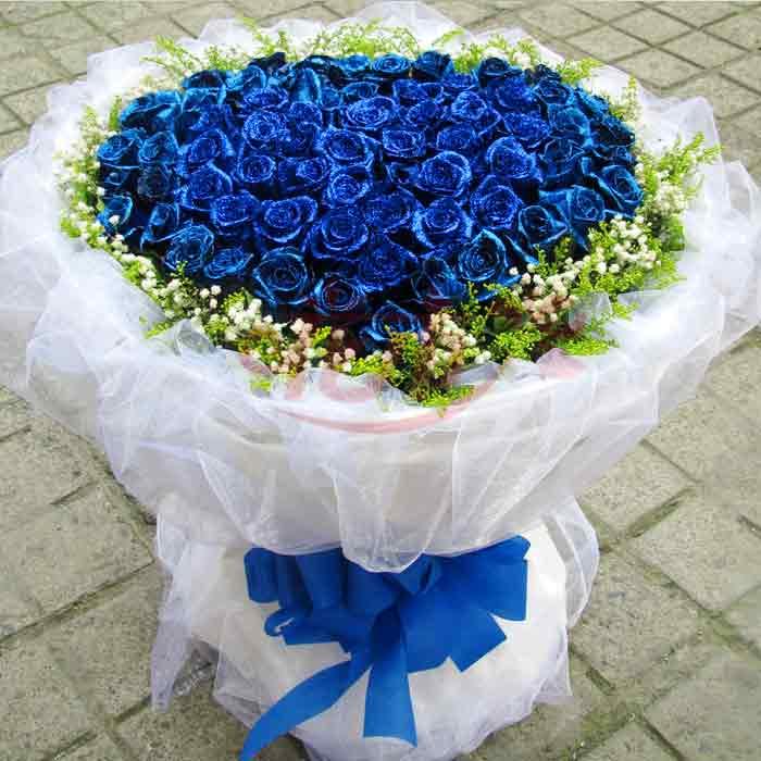 99朵蓝色妖姬/高贵女神