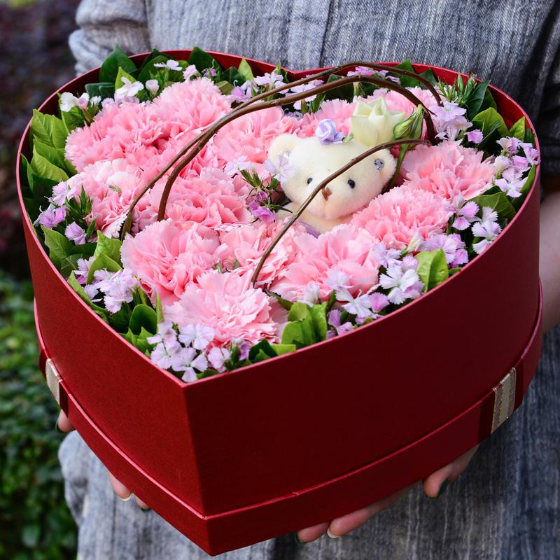 11朵粉色康乃馨/暖心的情谊