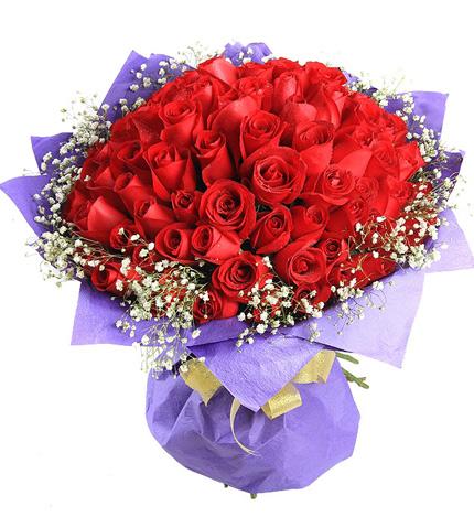 99枝极品昆明红玫瑰/浪漫的日子