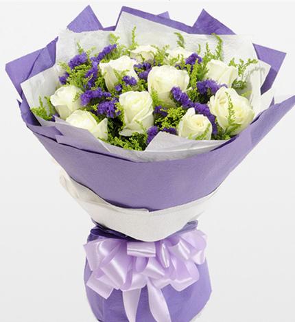 11朵白玫瑰/爱之源