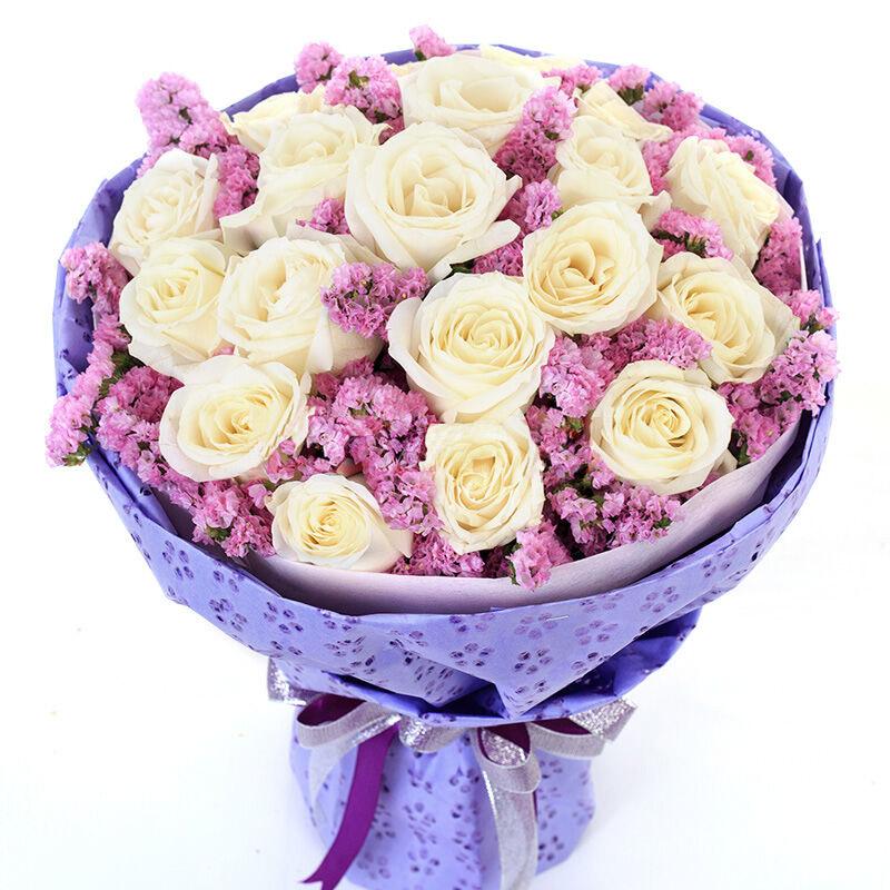 19朵顶级香槟玫瑰/甜如蜜