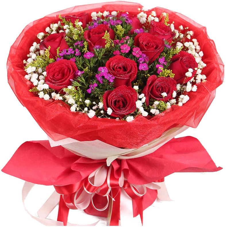 11朵顶级红玫瑰/火热激情