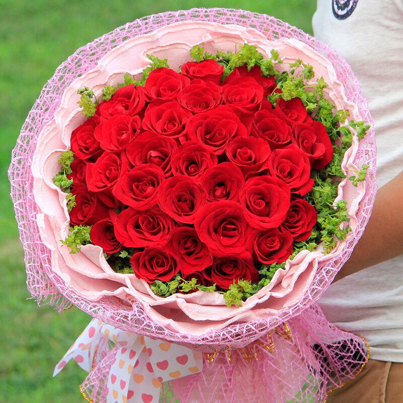 精选33朵红玫瑰/恋恋勿忘