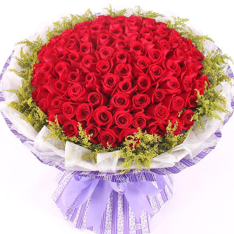 精选99朵红玫瑰/爱如此心
