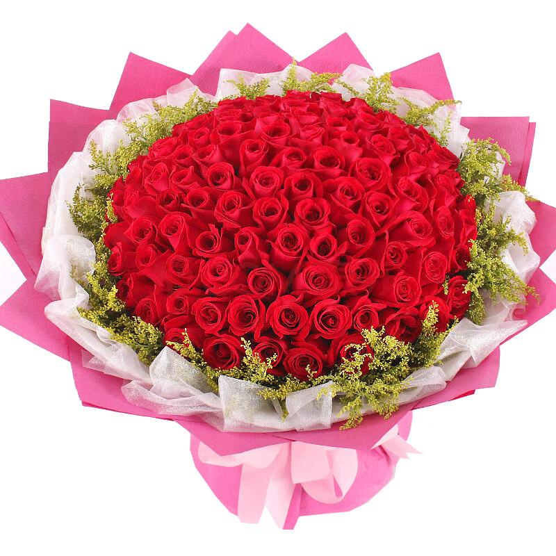 99枝顶级红玫瑰/爱在你身边