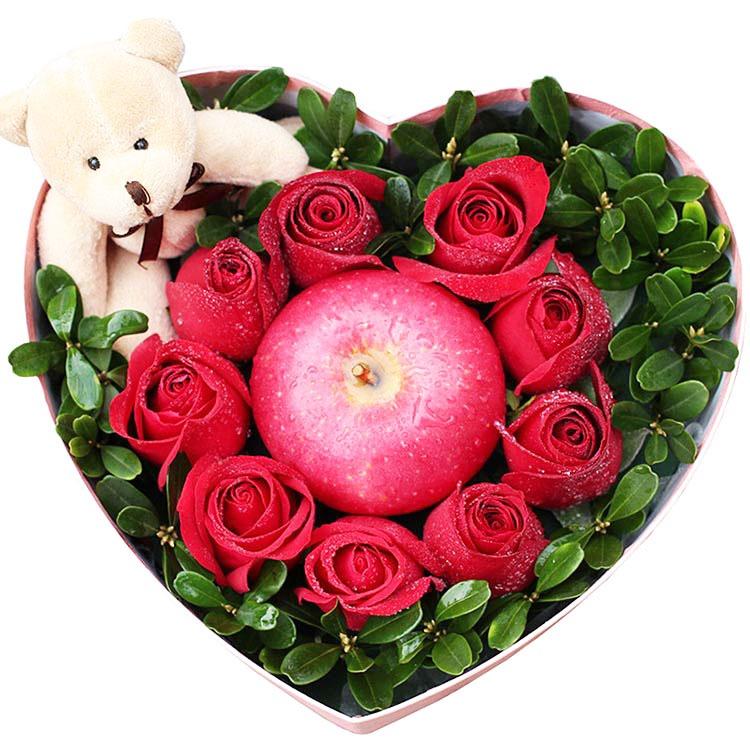 9朵精品红玫瑰/蜜一样香甜