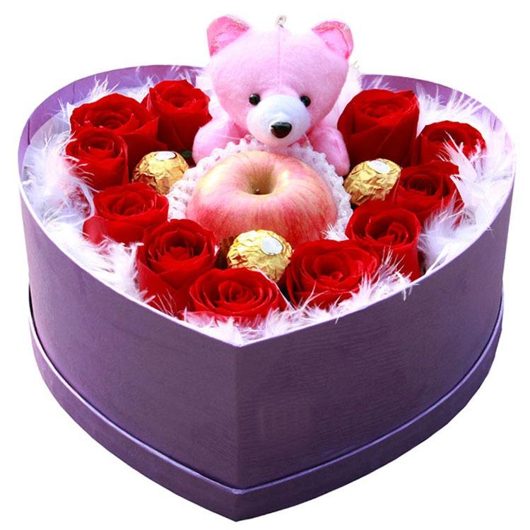 11朵精品红玫瑰/爱那么美