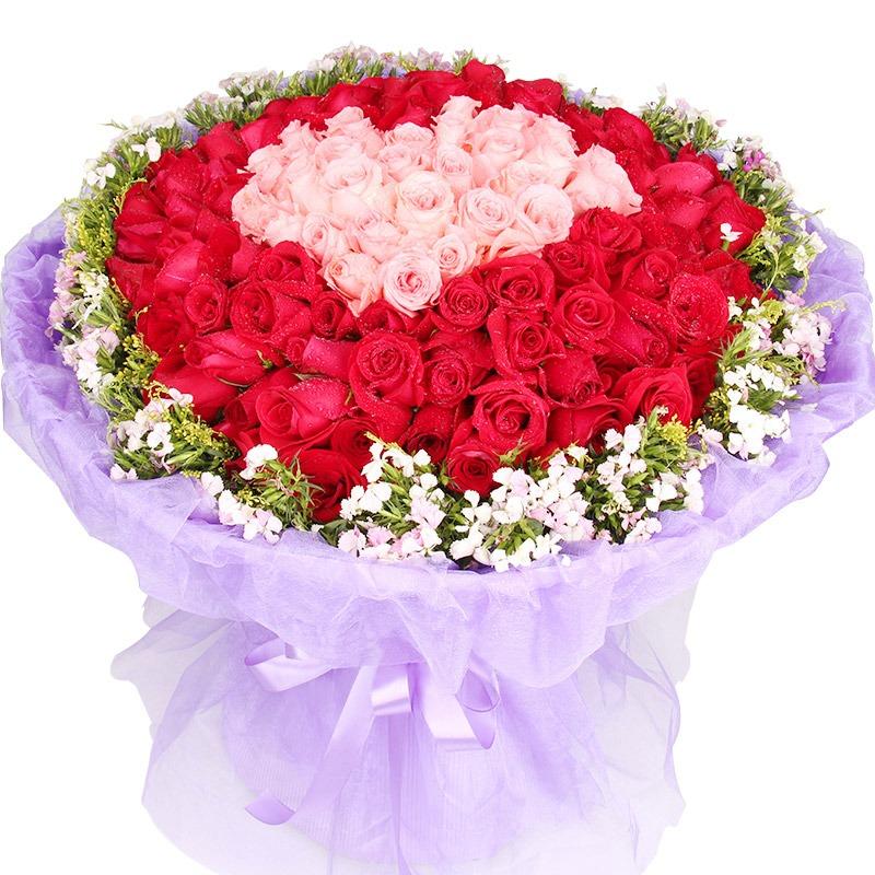 66朵红玫瑰/蜜恋心语