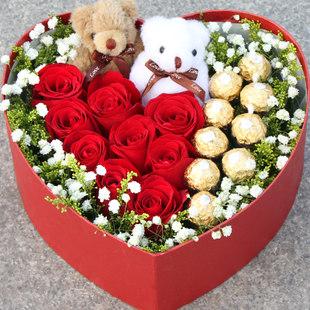 9支昆明红玫瑰/这就是爱