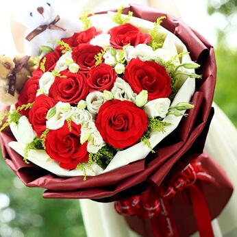 11支红玫瑰/此生相伴