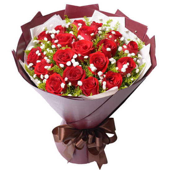 19朵红玫瑰/一粒红尘