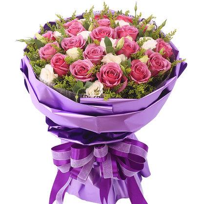 19朵紫玫瑰/瑰丽的爱