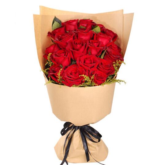 19支红玫瑰/挚爱如火