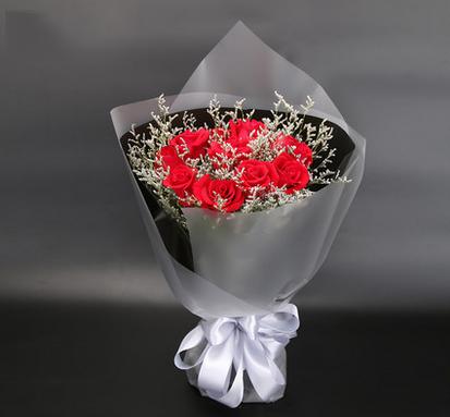 11支红玫瑰/喜欢在心里