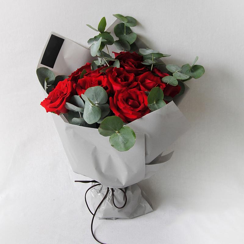 11朵红玫瑰/爱慕之情