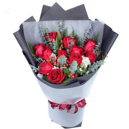 11朵红玫瑰/爱你不变