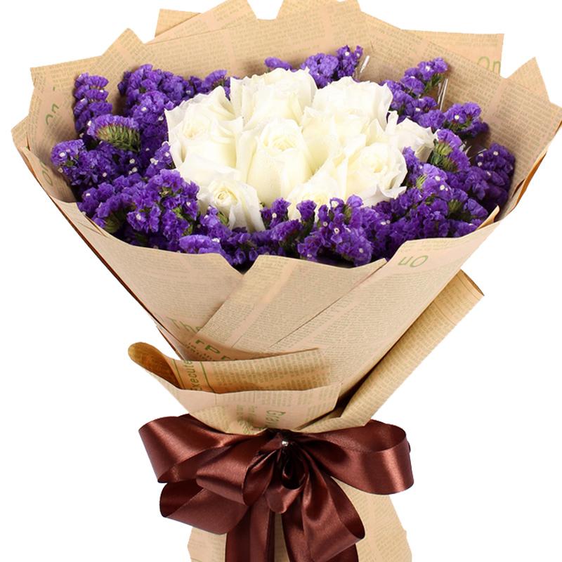 11朵顶级白玫瑰/最美的时光