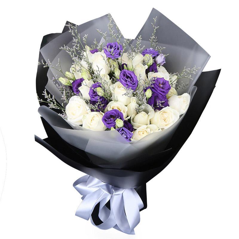 33朵白玫瑰/天使的拥抱