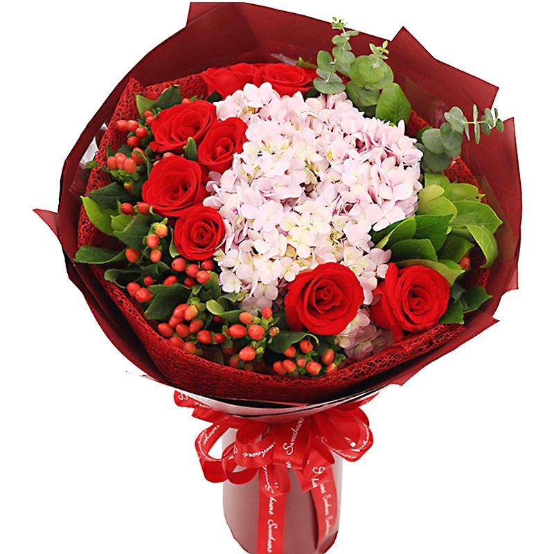 9朵红玫瑰/爱无悔