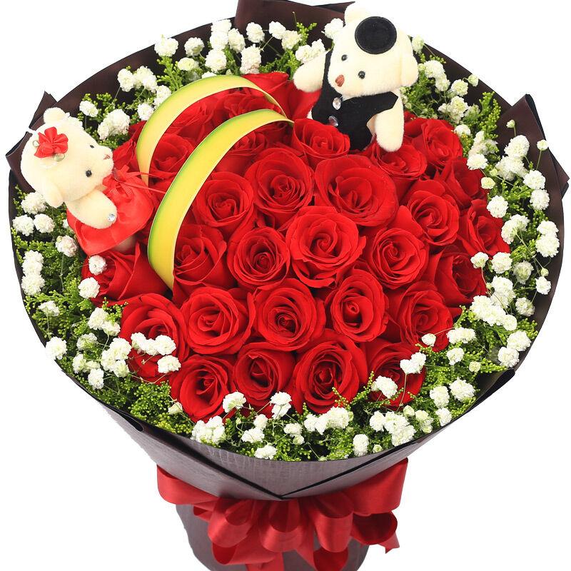 33朵红玫瑰/有点甜