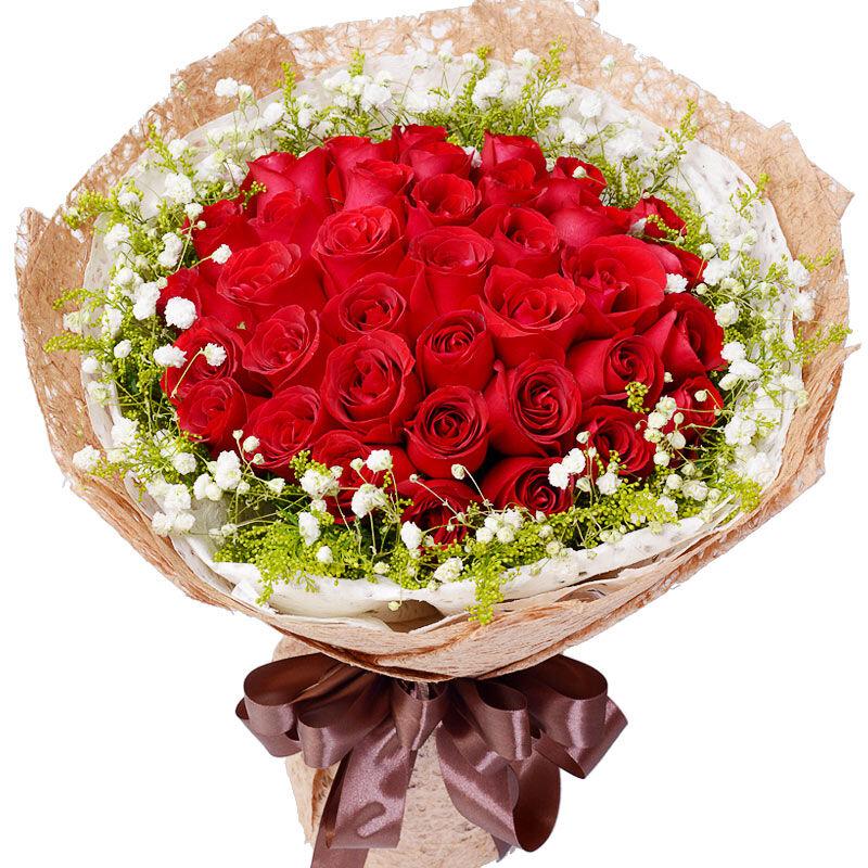 33支精品红玫瑰/浪漫告白