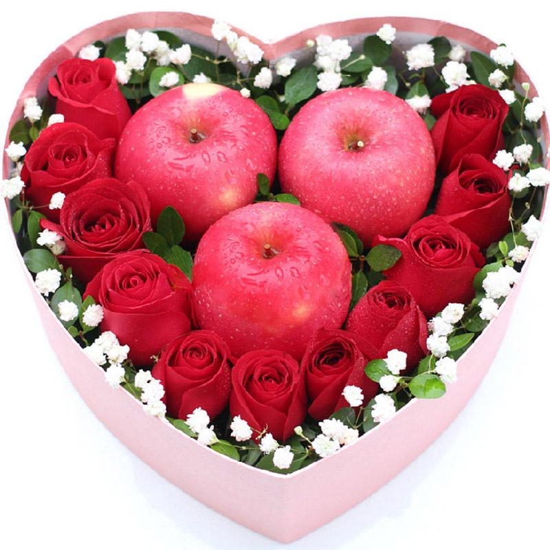 苹果3个/愿意为你