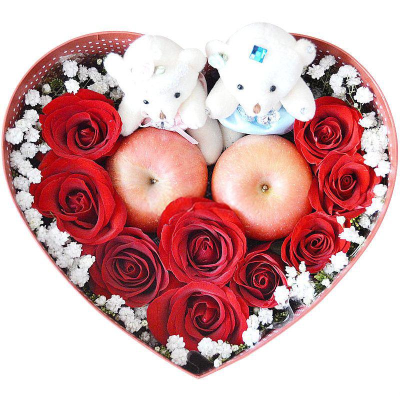 9朵红玫瑰/幸福相伴