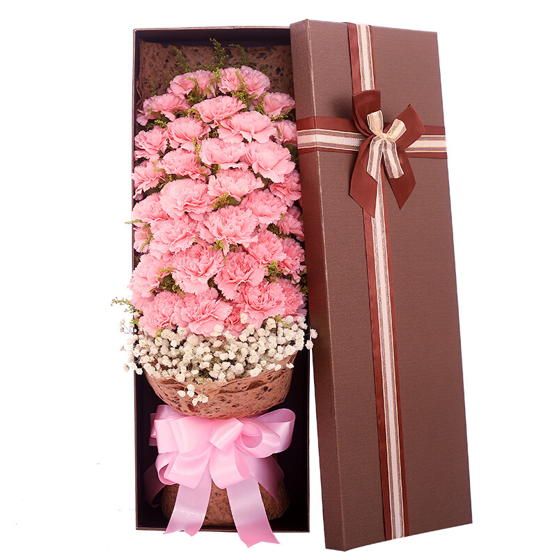 33朵粉色康乃馨/感恩礼赞