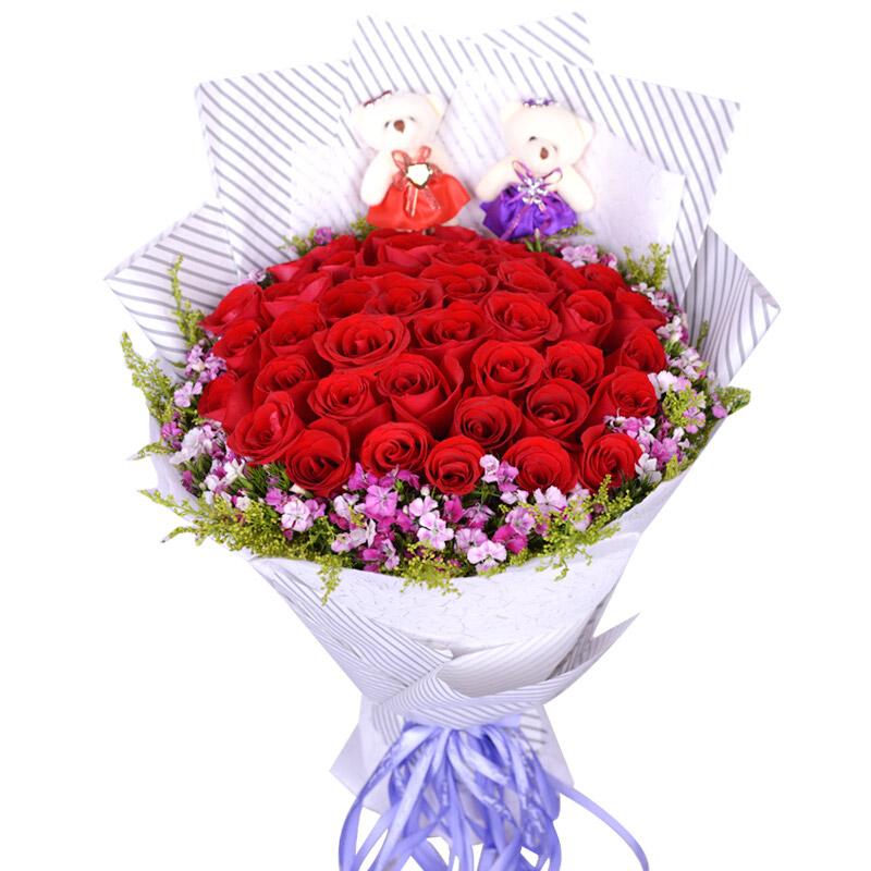 33朵红玫瑰/恰似温柔